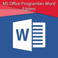 MS Office Programları Word Eğitimi