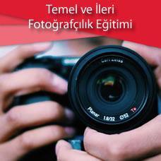 Temel ve İleri Fotoğrafçılık Eğitimi
